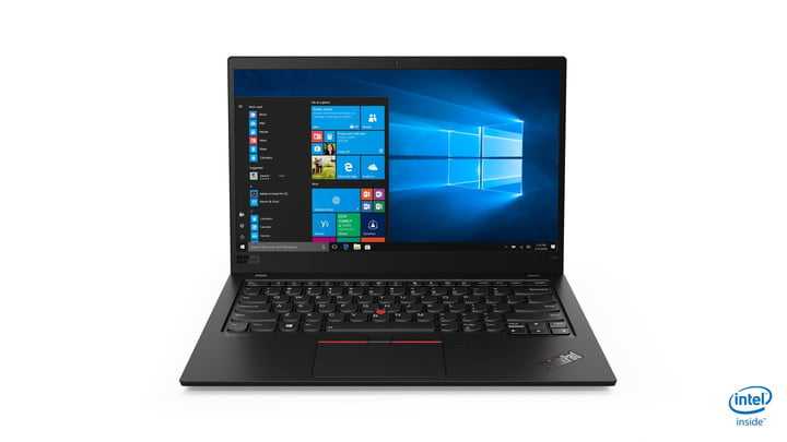 lenovo updated thinkpad x1 carbon yoga ces 2019 02 hero front facing jd