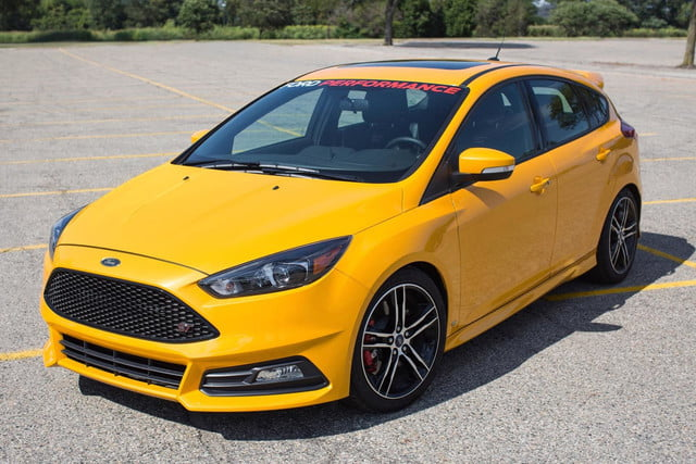 2015 Ford Focus ST performance upgrade kit