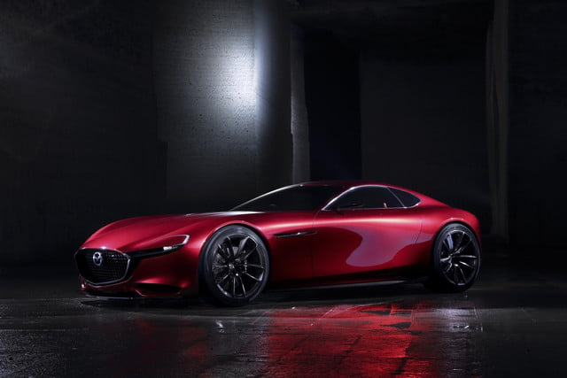 Mazda Resuscitates Rotary Sports Cars With Its Rx Vision Concept