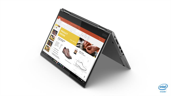 lenovo updated thinkpad x1 carbon yoga ces 2019 11 hero tent