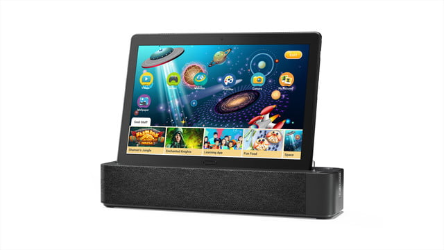 lenovo ces 2019 announcements 12 smart tab p10 with dock hero docked kid s room