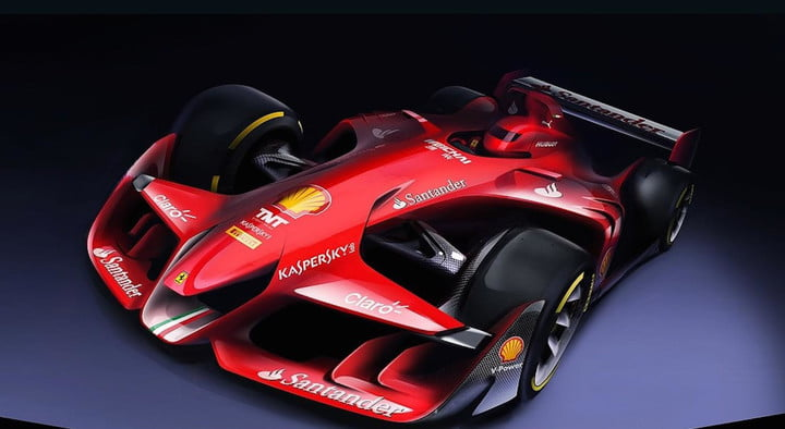 Beautiful Ferrari F1 Design Concept