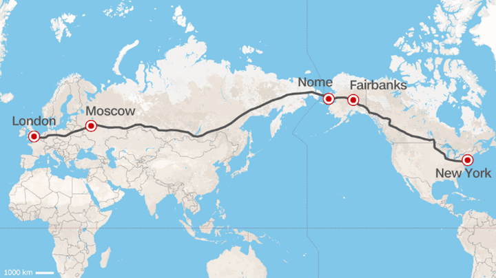 Russian Railways CEO Proposes a Trans-Continental Highway | Digital ...