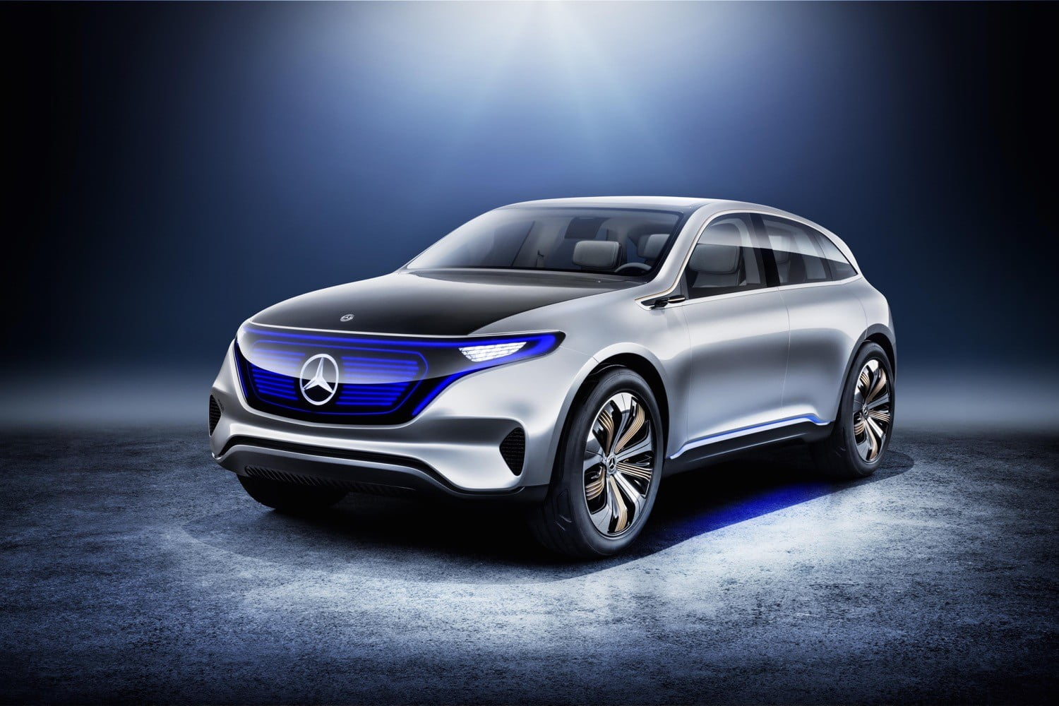Mercedes Benz Generation Eq Concept