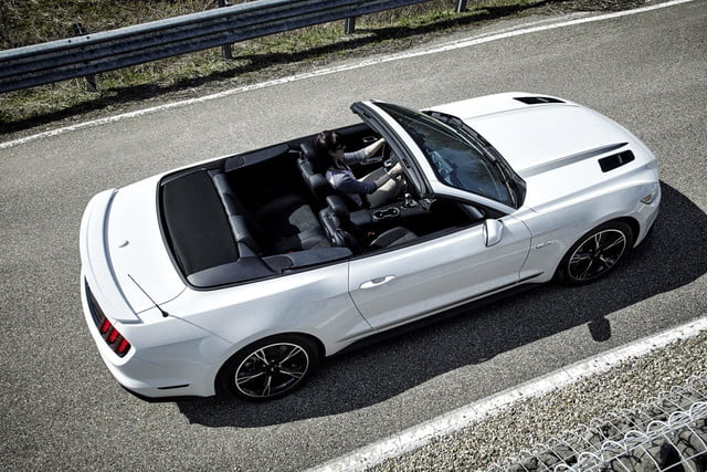 2016 Ford Mustang GT convertible California Special