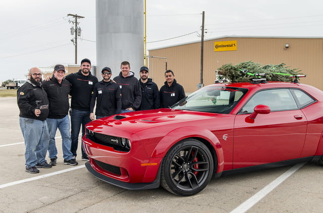 hennessey and dodge takes record for worlds fastest christmas tree 174mph 17
