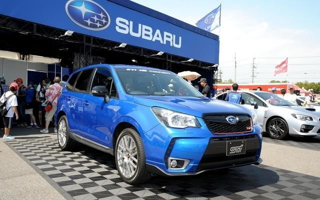 The Subaru Forester STI tS concept lands in Japan, but its beauty is skin deep