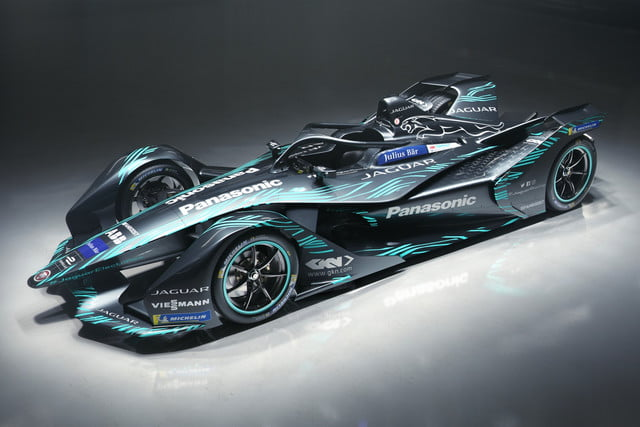 Jaguar I-Type 3 Formula E race car