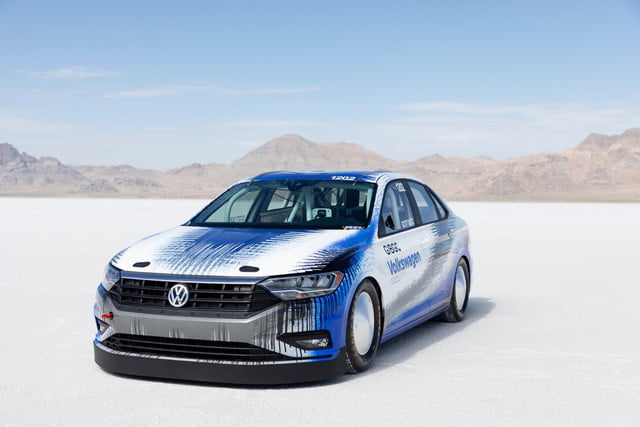 2019 Volkswagen Jetta Land-Speed Record Car Headed for Bonneville | Digital Trends
