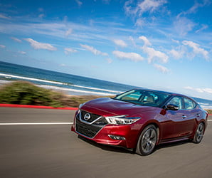 It's not a sports car. But don't rule out the 300-hp Nissan Maxima for commuting