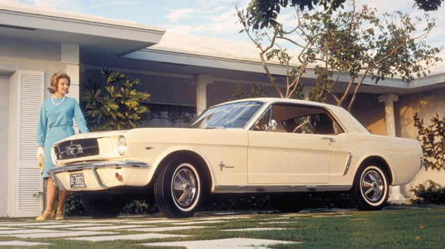 19641/2 Ford Mustang White Coupe