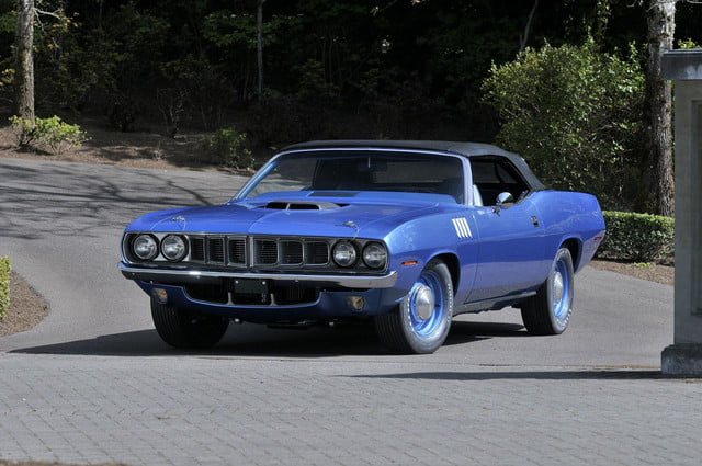1971 Plymouth Hemi Cuda Convertible Sells For 3 5 Million