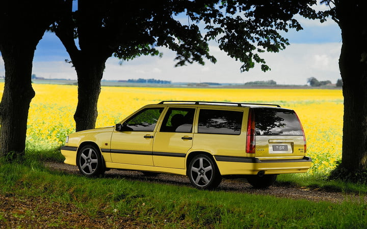 favorite station wagons from history 1995 volvo 850 t5 r wagon rear three quarter