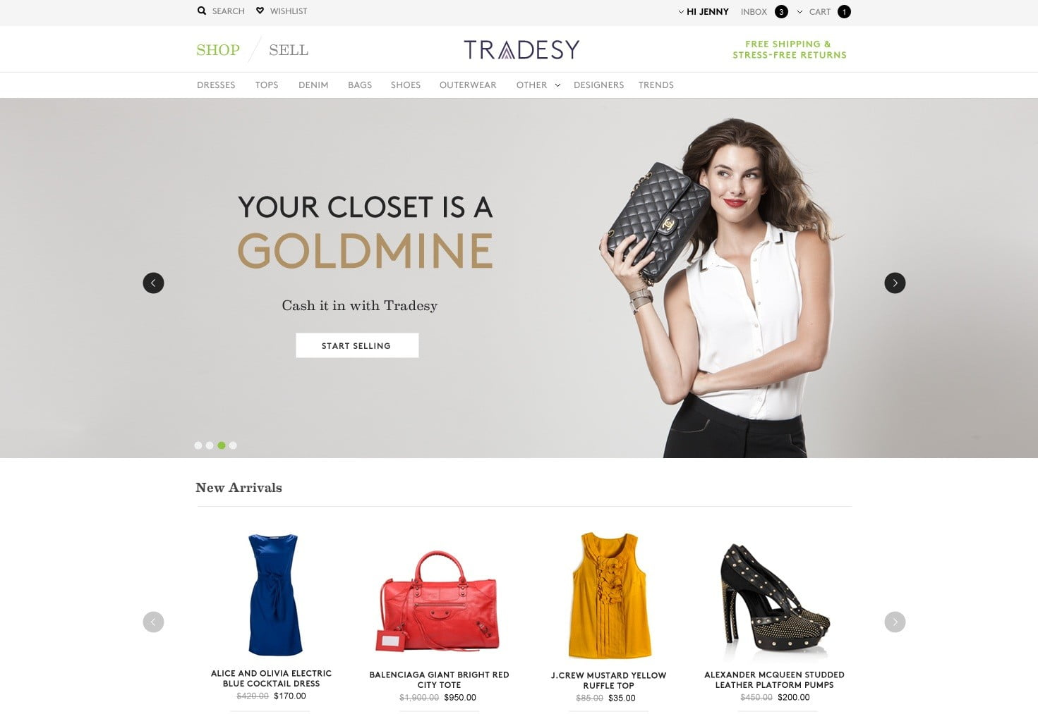 df9706efcd23 Tradesy, a second market for authentic designer clothes, guaranteed |  Digital Trends