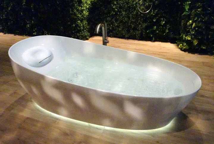 toto introduces its new flotation tub, the ultimate in bath-time