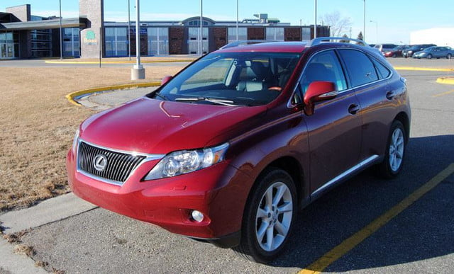 2011 lexus rx350 front angle