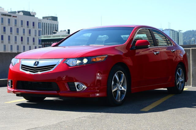 2012 acura tsx special edition accura exterior front leftangle
