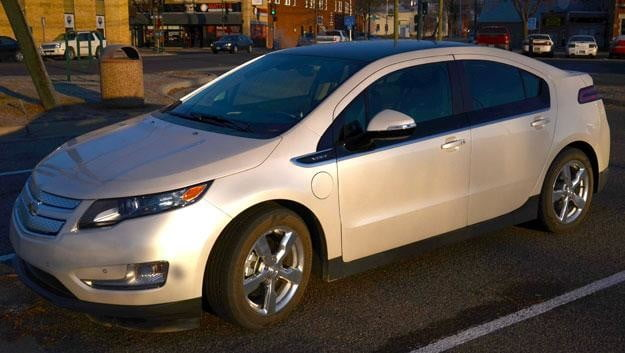 2012 chevy volt driver side