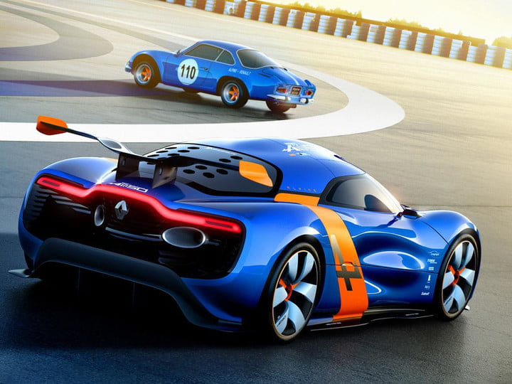 Renault Alpine Sports Car Project Continues Without Caterham 2012 A110 50  Concept