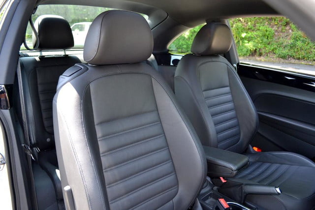 2012 volkswagen beetle review interior seating