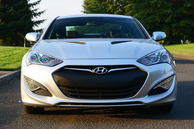 2013 hyundai genesis coupe front