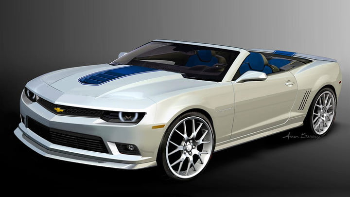 New Body Face Next Generation Camaro Chis 2017 Sema Chevrolet Camarospring 029