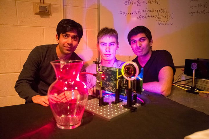MIT's nano-camera operates at speed of light, can detect clear objects, rain, fog
