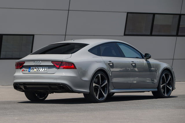 2014 Audi RS7 rear right