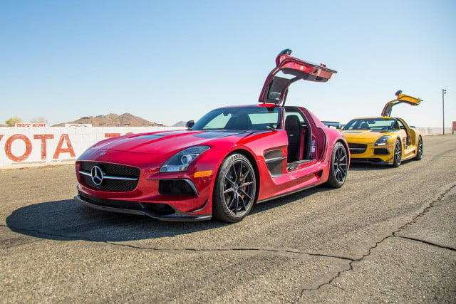 First Drive 2014 MercedesBenz SLS AMG Black Series  Digital Trends