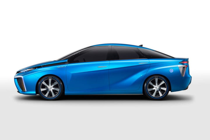 Toyota Hydrogen Fuel Cell Vehicle Tanks Tested With Bullets Fcv Concept At Ces 2017