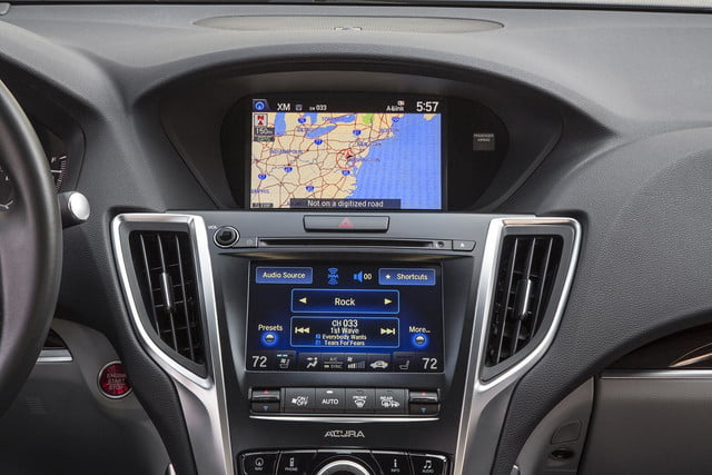 2015 Acura Tlx Tech >> Dual screen infotainment systems prove a worrying trend ...