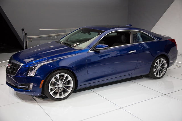 2015 Cadillac ATS Coupe left