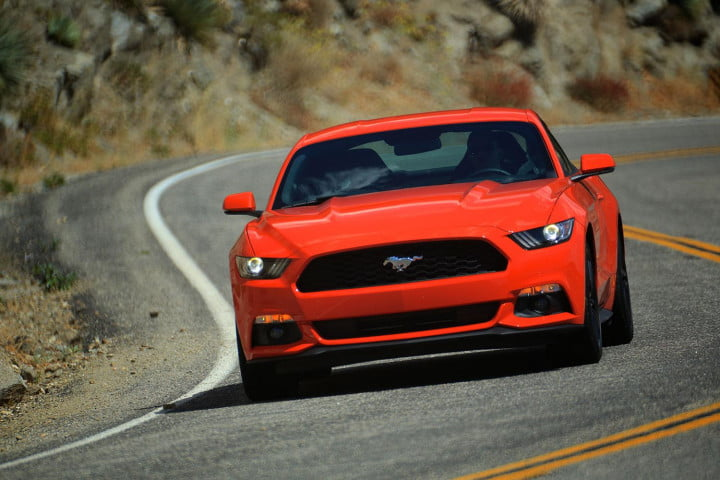 2015 Ford Mustang driving 6