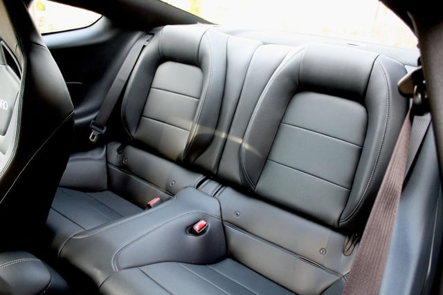 2015 Ford Mustang GT back seats