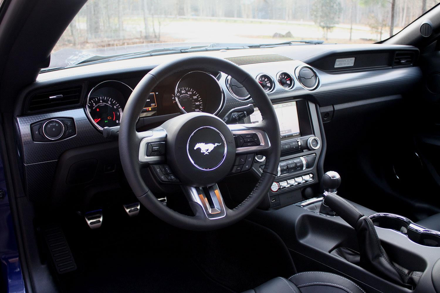 ford mustang gt review steering wheel full - Ford Gt40 2015 Interior