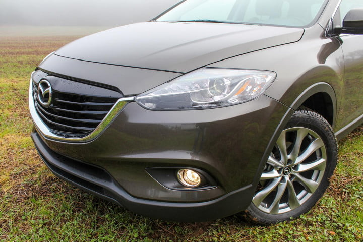 2015 Mazda CX 9 front end angle