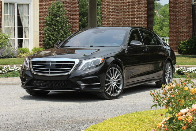 2015 Mercedes Benz S550 Front Angle