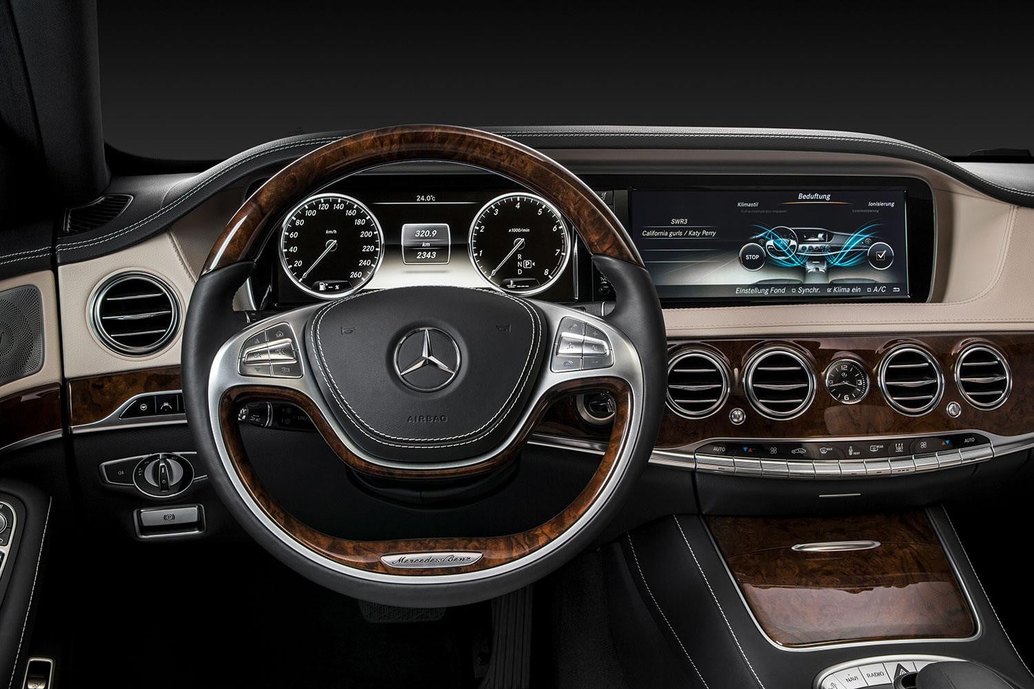 2015 Mercedes Benz S550 4matic Review Digital Trends S500 Wiring Diagram Front Interior