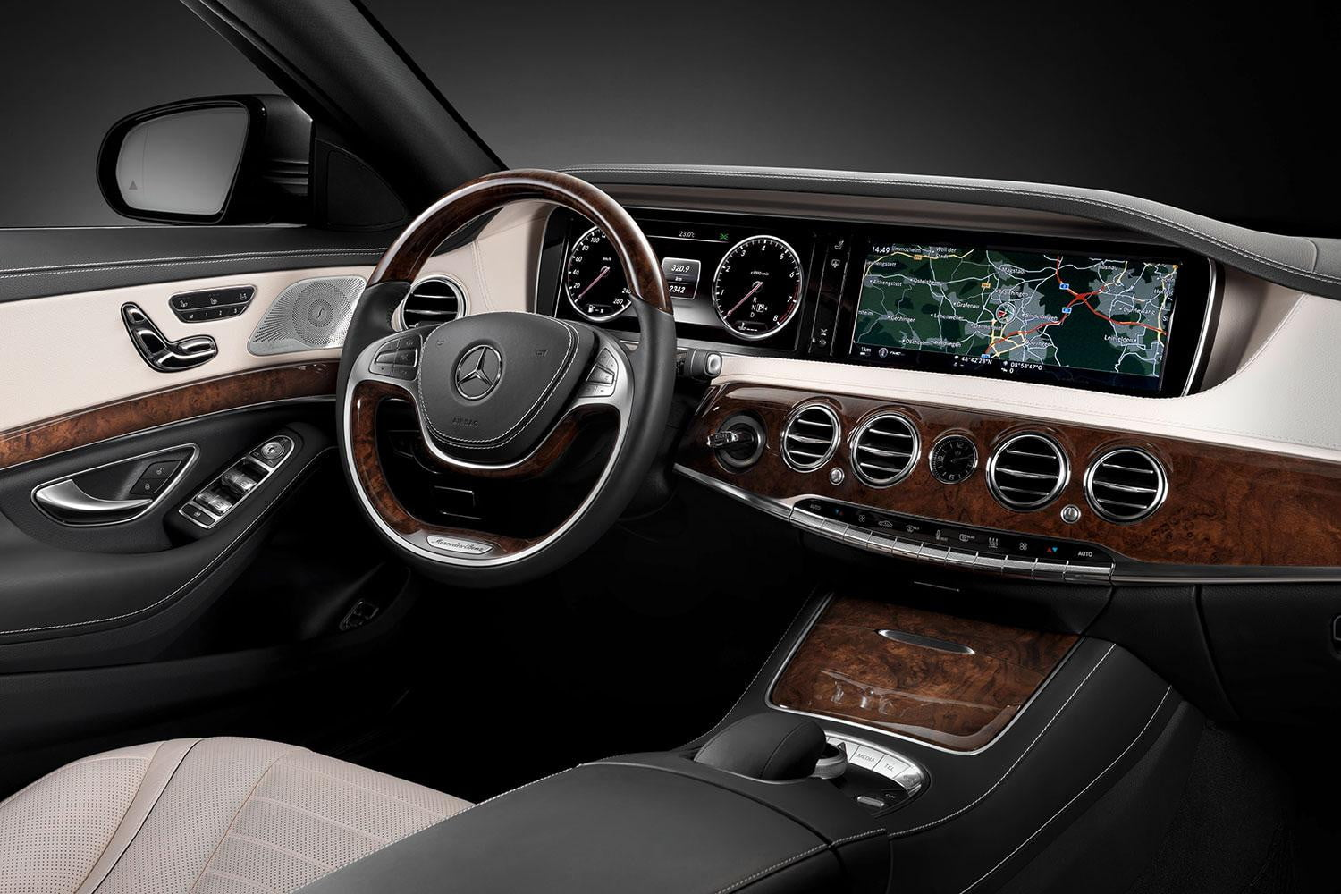 mercedes benz s matic review front interior angle - 2015 Mercedes Benz Interior