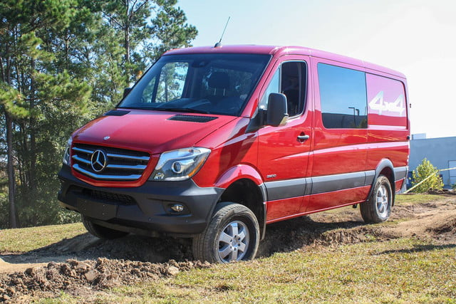 2015 Mercedes-Benz Sprinter front sid edriving 2