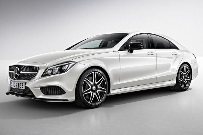 2015 Mercedes CLS front angle & Mercedes-Benz plans a C-Class based four-door coupe to rival BMWu0027s ... pezcame.com