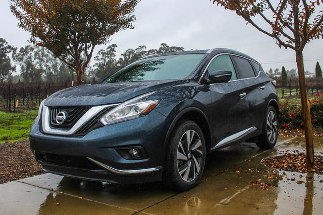 2015 Nissan Murano review front angle