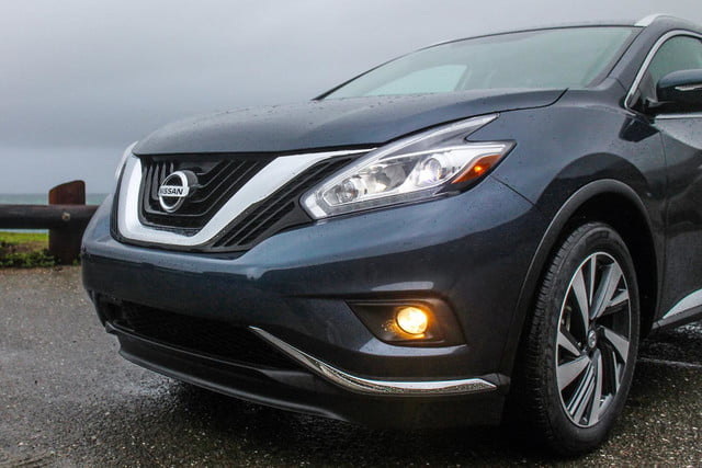 2015 Nissan Murano review front macro