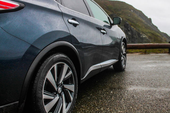 2015 Nissan Murano review rims