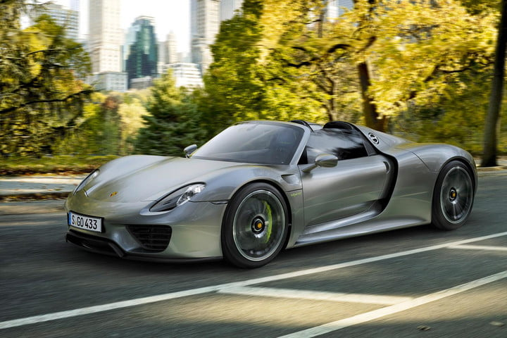 Porsche's 918 Spyder goes 0-60 mph in 2.5 seconds | Digital Trends