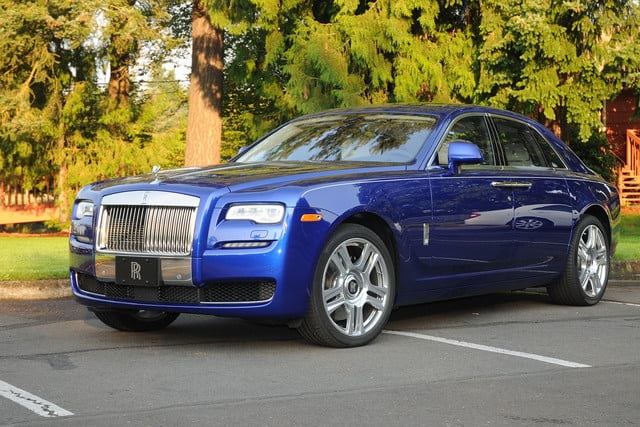 2015 Rolls Royce Ghost front left angle
