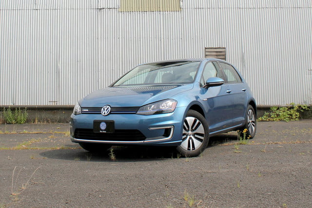 2015 vw e golf volkswagen front angle 2