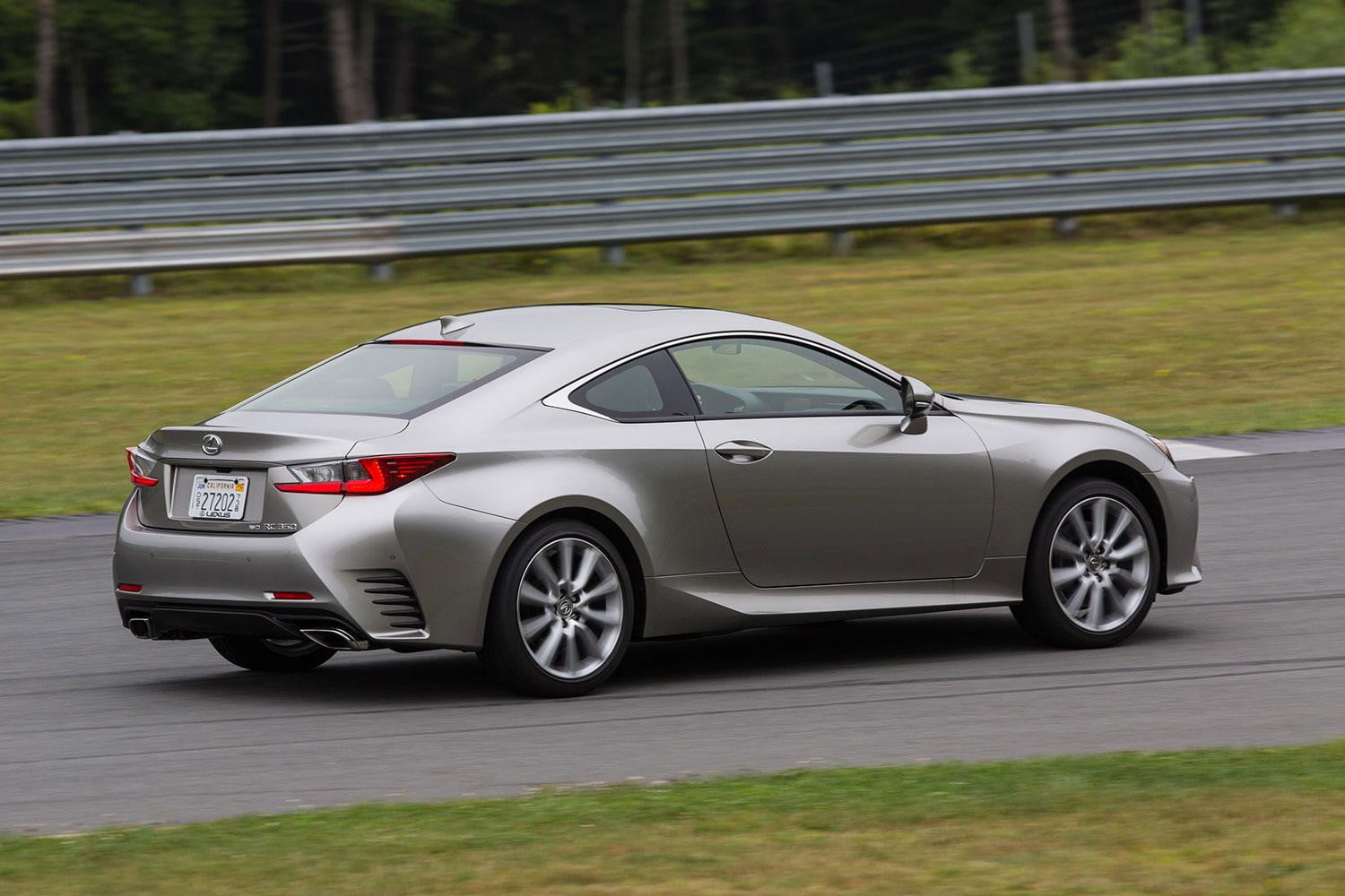 2015 lexus rc 350 f sport review digital trends. Black Bedroom Furniture Sets. Home Design Ideas