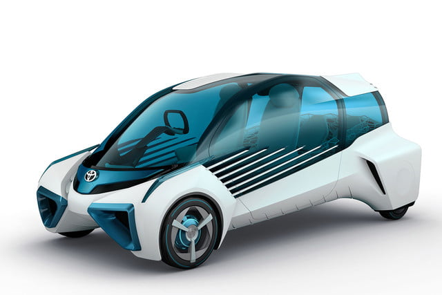 toyotas fcv plus concept comes to visit from a hydrogen future 2015 tokyo toyota 001