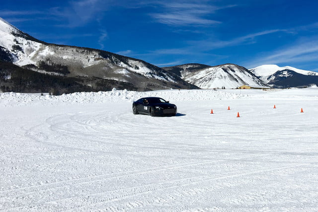 2016 aston martin on ice first drive track 3